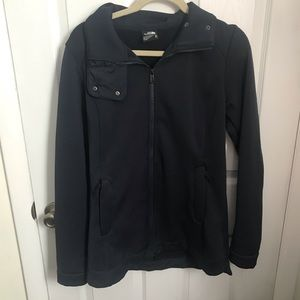 The North Face Navy Blue Zip Up Jacket